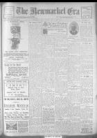 Newmarket Era (Newmarket, ON1861), November 24, 1922