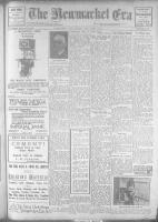Newmarket Era (Newmarket, ON1861), December 8, 1922