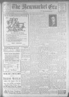 Newmarket Era (Newmarket, ON1861), December 15, 1922