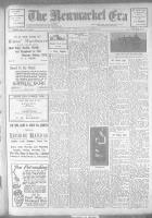 Newmarket Era (Newmarket, ON1861), December 29, 1922