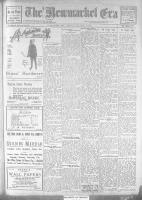 Newmarket Era (Newmarket, ON1861), January 5, 1923