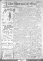 Newmarket Era (Newmarket, ON1861), January 19, 1923