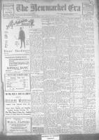 Newmarket Era (Newmarket, ON1861), February 2, 1923