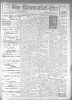 Newmarket Era (Newmarket, ON1861), April 27, 1923