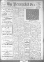 Newmarket Era (Newmarket, ON1861), May 11, 1923