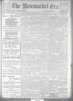 Newmarket Era (Newmarket, ON1861), September 7, 1923
