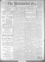 Newmarket Era (Newmarket, ON1861), November 16, 1923