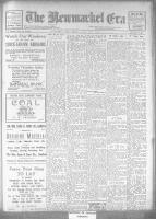 Newmarket Era (Newmarket, ON1861), January 4, 1924