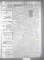 Newmarket Era (Newmarket, ON), January 15, 1926