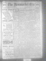 Newmarket Era (Newmarket, ON), January 22, 1926