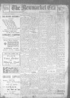 Newmarket Era (Newmarket, ON), February 5, 1926