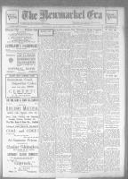 Newmarket Era (Newmarket, ON), May 7, 1926