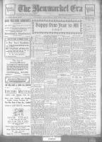 Newmarket Era (Newmarket, ON1861), December 31, 1926