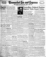 Newmarket Era and Express (Newmarket, ON), January 11, 1951