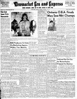 Newmarket Era and Express (Newmarket, ON), October 11, 1951