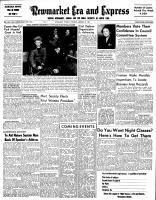 Newmarket Era and Express (Newmarket, ON), January 24, 1952