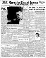 Newmarket Era and Express (Newmarket, ON), April 24, 1952