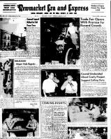 Newmarket Era and Express (Newmarket, ON), August 14, 1952