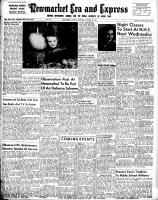 Newmarket Era and Express (Newmarket, ON), October 30, 1952