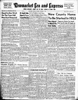 Newmarket Era and Express (Newmarket, ON), November 13, 1952