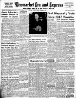 Newmarket Era and Express (Newmarket, ON), November 20, 1952
