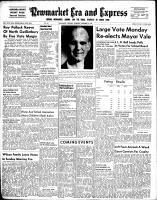 Newmarket Era and Express (Newmarket, ON), December 4, 1952