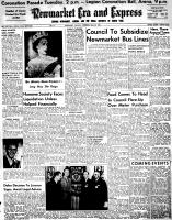 Newmarket Era and Express (Newmarket, ON), May 28, 1953