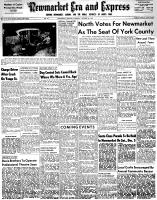 Newmarket Era and Express (Newmarket, ON), October 29, 1953