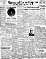 Newmarket Era and Express (Newmarket, ON), November 5, 1953
