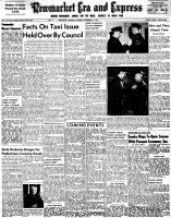 Newmarket Era and Express (Newmarket, ON), November 19, 1953