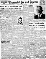 Newmarket Era and Express (Newmarket, ON), December 3, 1953