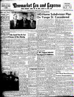 Newmarket Era and Express (Newmarket, ON), January 14, 1954