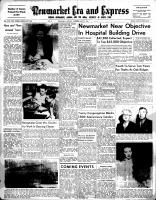 Newmarket Era and Express (Newmarket, ON), May 27, 1954