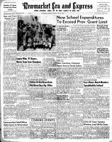 Newmarket Era and Express (Newmarket, ON), July 29, 1954