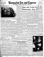 Newmarket Era and Express (Newmarket, ON), August 12, 1954