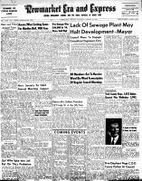 Newmarket Era and Express (Newmarket, ON), January 13, 1955