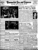 Newmarket Era and Express (Newmarket, ON), March 31, 1955