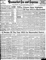 Newmarket Era and Express (Newmarket, ON), December 29, 1955