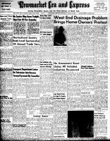 Newmarket Era and Express (Newmarket, ON), April 12, 1956