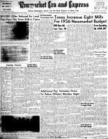 Newmarket Era and Express (Newmarket, ON), April 26, 1956