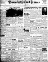 Newmarket Era and Express (Newmarket, ON), May 24, 1956