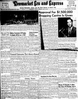 Newmarket Era and Express (Newmarket, ON), May 31, 1956