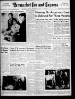 Newmarket Era and Express (Newmarket, ON), April 4, 1957
