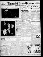Newmarket Era and Express (Newmarket, ON), May 9, 1957
