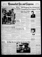 Newmarket Era and Express (Newmarket, ON), July 18, 1957