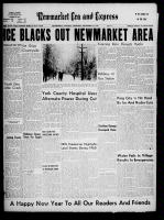 Newmarket Era and Express (Newmarket, ON), December 31, 1959