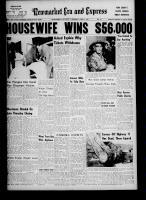 Newmarket Era and Express (Newmarket, ON), June 1, 1961