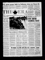 The Era (Newmarket, Ontario), September 16, 1970
