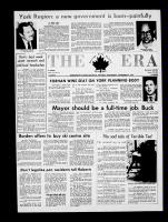 The Era (Newmarket, Ontario), November 4, 1970