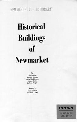 Historical Buildings of Newmarket